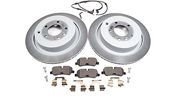 For Land Rover Range Rover Front and Rear Disc Brake Rotors Pads  /& Sensors Kit