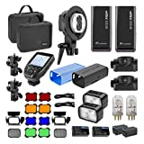 Flashpoint eVOLV 200 TTL Pocket Flash Dual Head Nikon Pro Exclusive Kit (Godox AD200 TTL Pocket Flash)