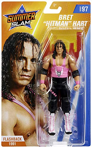 - Ringside Bret Hart - WWE Series 97 Mattel Toy Wrestling Action Figure
