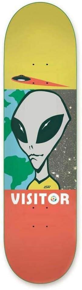 Alien Workshop Visitor Tourist Skateboard Deck