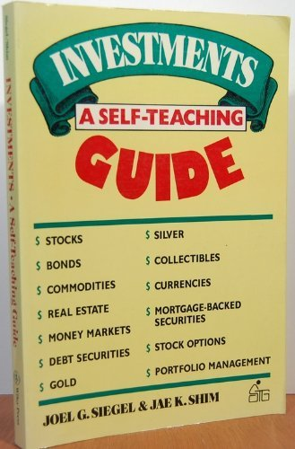 Investments: A Self-Teaching Guide (Wiley Self Teaching Guides)
