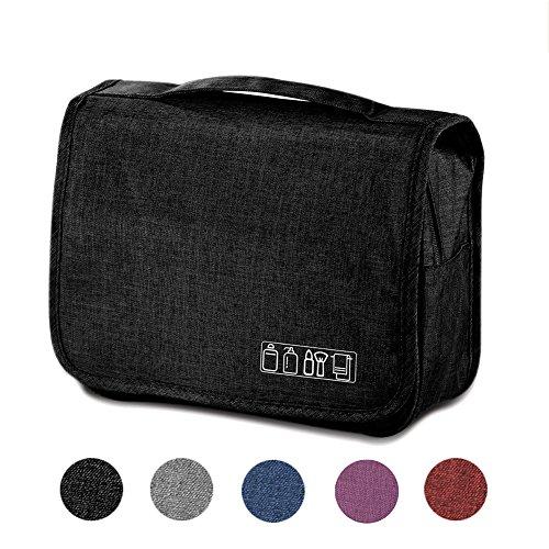 b3de8a6377 Vavabox Travel Hanging Toiletry Bag -Large Traveling Makeup Bag-Cosmetic Bag -Shower Bag