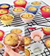 Baking Cups, Silicone Cupcake Liners, Silicone Molds, Reusable (40)
