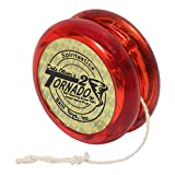 Spintastics Tornado 2 Ball Bearing Pro Yoyo (red)