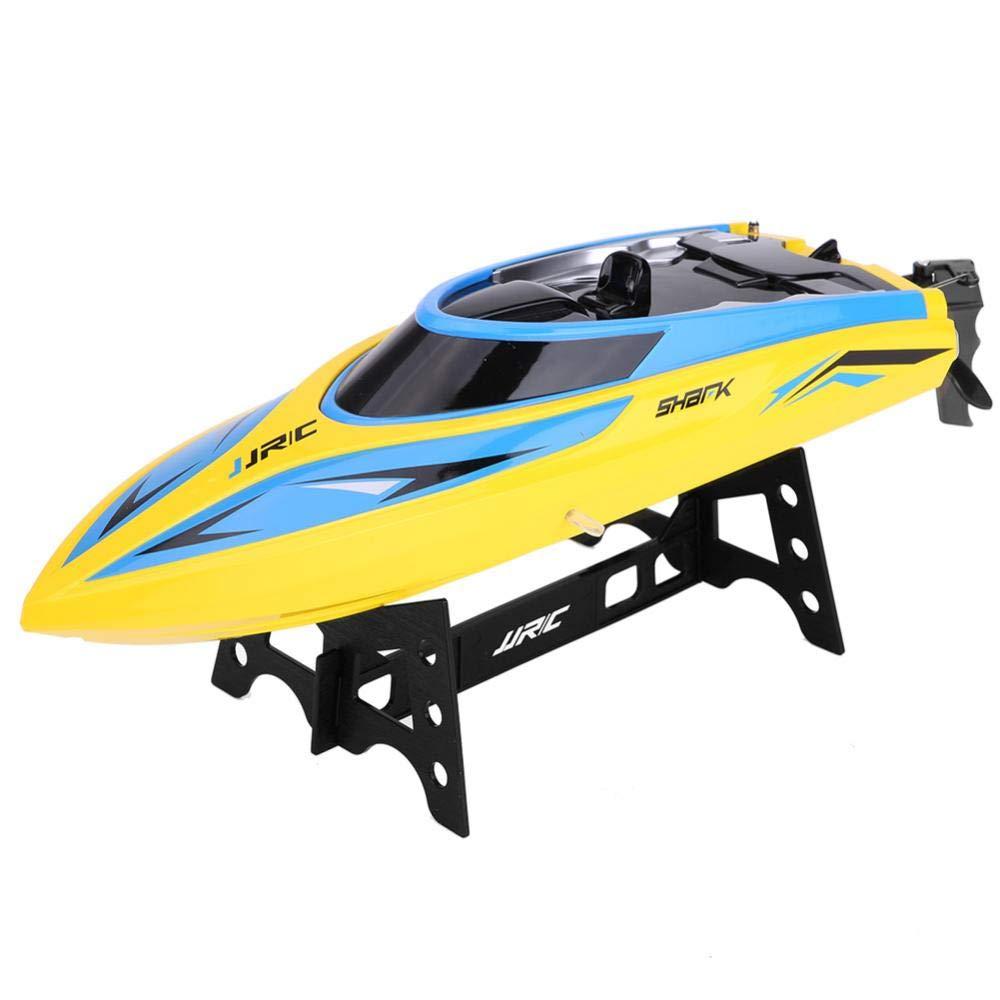 Dilwe Barca RC, 2.4GHz 25km h Telecomandata Barca da Corsa Modello Giocattolo