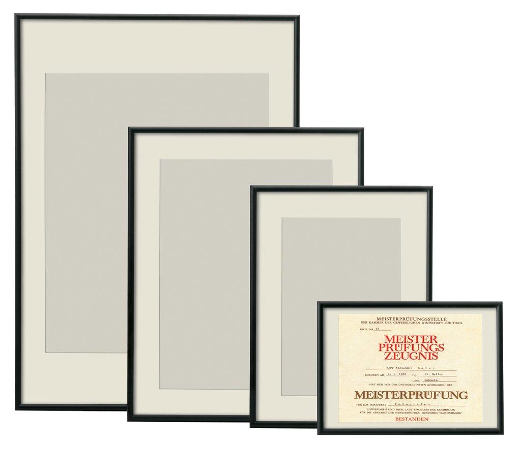 Alu-Rahmen Bilder-Rahmen schwarz 30x40 cm Poster Plakat Foto Druck ...