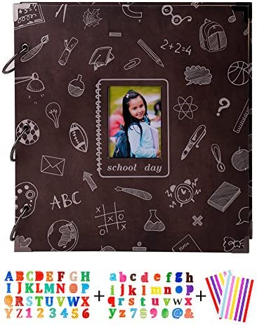 SICOHOME School Chalkboard Scrapbook Opening product image