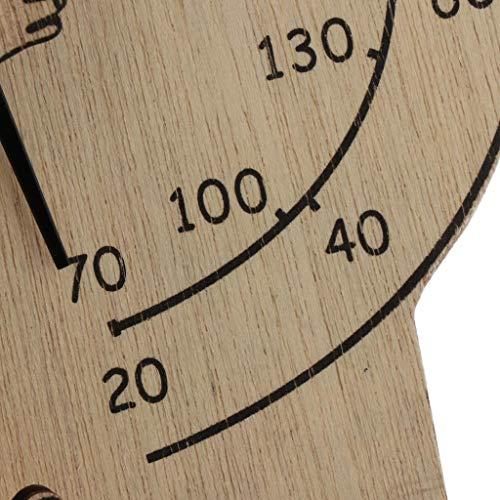 B Blesiya Wooden Digital Thermometer Sauna Accessories for Sauna Room Wall Mounted by B Blesiya (Image #4)