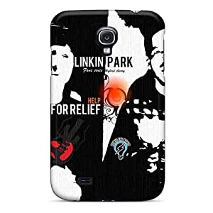 TimeaJoyce Samsung Galaxy S4 Anti-Scratch Cell-phone Hard Covers Allow Personal Design High Resolution Linkin Park Pictures [div92PjrL]