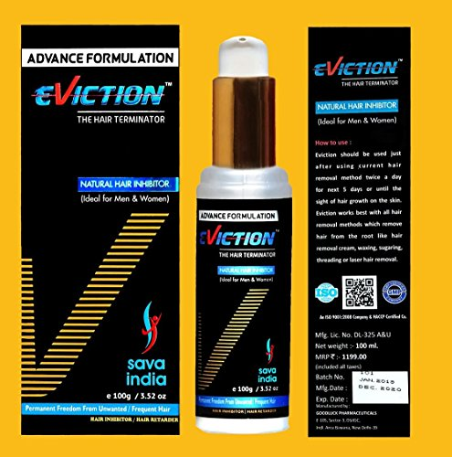 Eviction Permanent Hair Removal Cream Stop Hair Growth Inhibitor