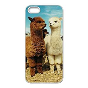 Alpaca Personalized Cover Case with Hard Shell Protection for Iphone 5,5S Case lxa#920568