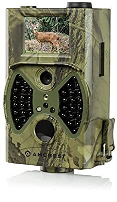 """Amcrest ATC-1201 12MP Digital Game Cam Trail Camera with Integrated 2"""" LCD Screen (Camo Green)"""
