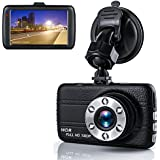 Dash Cam,Dashboard Camera, Frehoy Full HD 1080, 3.0 Screen DVR Car Dashboard Camera Recorder with 170° Wide Angle, Night Vision, G-sensor, WDR, Loop Recording, Motion Detection, (Black)