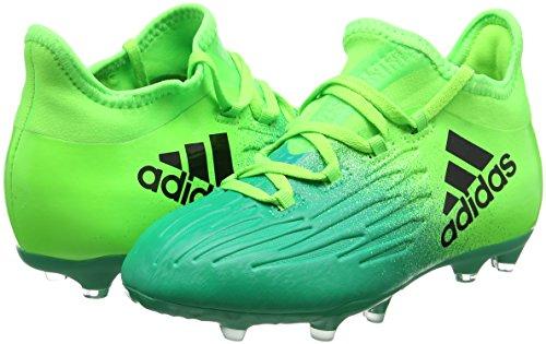 adidas X 16.1 FG Fußballschuh Kinder SGREEN/CBLACK/CORGRN