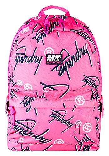Crew Superdry Fluro Montana Rose portés Pink Super dos Sacs r5Twr0q