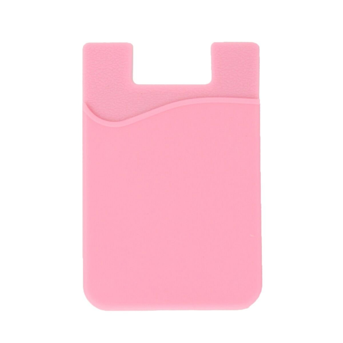 the latest 9757e a158b Phone Wallet, ARKTEK Stick On Sleeve Cell Phone Case Adhesive Silicone  Credit Card Holder(Pink)