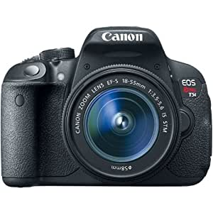 Canon EOS Rebel T5i 18.0 MP Digital SLR Touchscreen Camera Kit with EF-S 18-55mm f/3.5-5.6 IS STM Lens (Certified Refurbished)