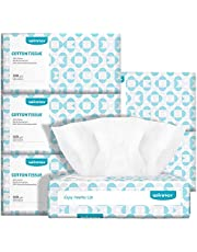 Winner Ultra-soft Baby Dry Wipes 100% Pure Cotton 600 Counts Unscented Cotton Wipes Wet and Dry Dual-use Perfect for Sensitive Skin and Baby Care