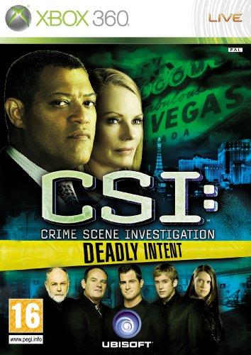 CSI: Crime Scene Investigation - Deadly Intent (Xbox 360) (Xbox Crime Games)