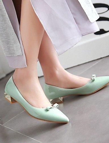 Toe eu42 gris sintética de mujer bajo oficina cn43 tacón punta azul libre zapatos 5 piel blue al Pisos y uk8 de PDX 5 rojo carrera casual aire us10 CSRxzwqq