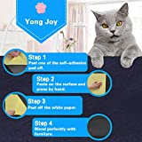yongjoy Cat Furniture Protector (Set of 4), Clear