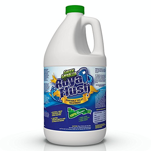 Royal Flush Portable Toilet Waste DIGESTANT & DEODORIZER - 1 Gallon / Fresh Scent (Up to 64 Doses per (Toilet Deodorizer)
