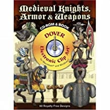 Medieval Knights, Armor and Weapons CD-ROM and Book
