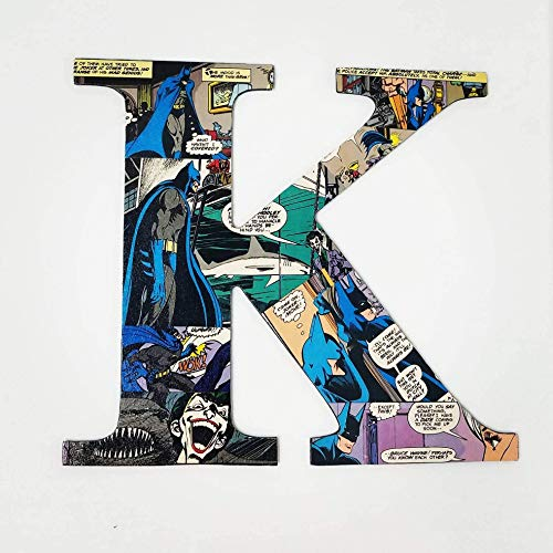 Batman Letters, Custom, wall letters, wood names, boys for sale  Delivered anywhere in USA