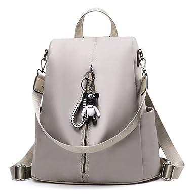 68bc9c603e9a Amazon.com  Women Backpack Purse Anti Theft Waterproof Rucksack Girls  Travel Shoulder Bag  Clothing
