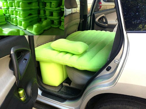 Car Travel Inflatable Mattress Car Inflatable Bed Car Bed (Green) by Fashion outfit (Image #1)