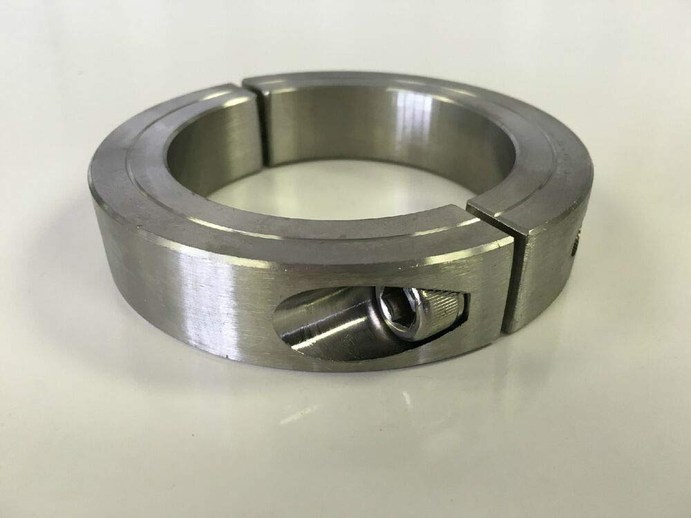 2-1/8'' Inch Stainless Steel Double Split Shaft Collar - 2SSC-212 (1pc)