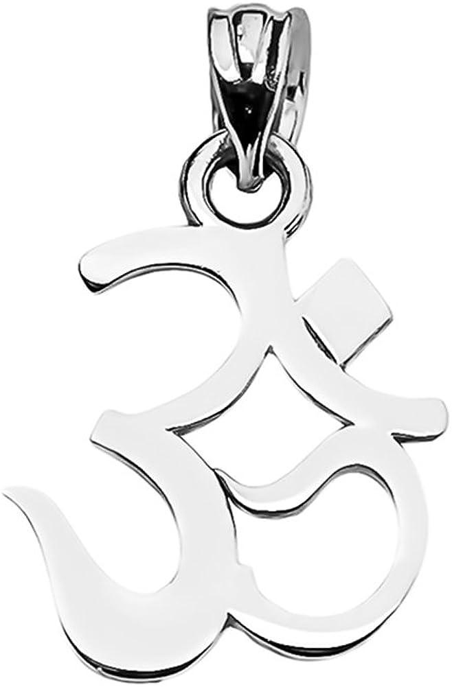 OM Ganesh 14k Yellow Gold  Pendant Necklace OHM