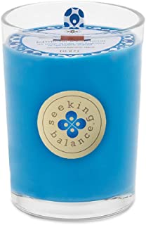 product image for Root Candles Seeking Balance Beeswax Blend Candle, 8-Ounce, Empower: Lavandin & Patchouli