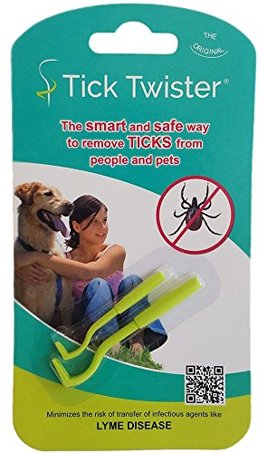 Tick Twister Tick Remover Set with Small and Large Tick (Tick Removal Tool)