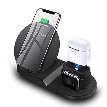 ZUZU Cargador inalámbrico Cargador con Cable Micro USB para ...