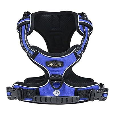 Acare Dog Harness Vest With Handle Adjustable Dog Vest Harness