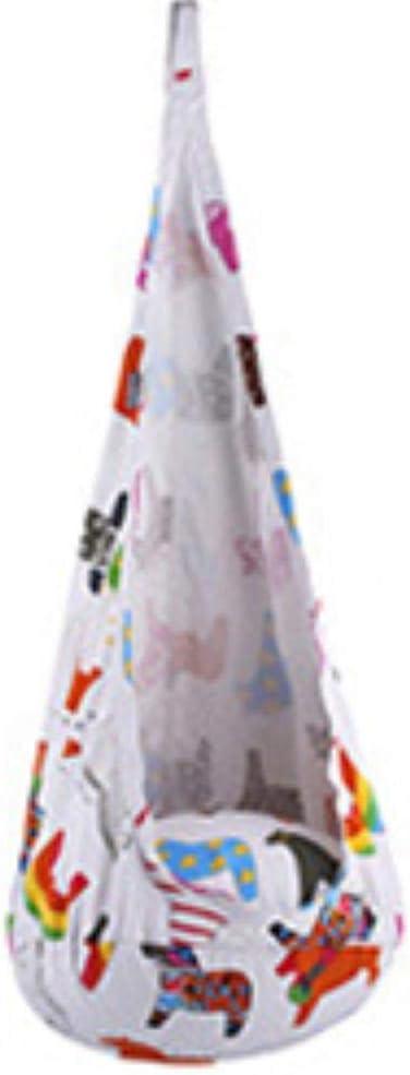 WYC Niño Interior al Aire Libre Columpio Colgante sofá Bolsas de Frijoles para Dormir Tienda Nido árbol casa Hamaca Silla cojín Inflable niños niña Regalos, Color 1