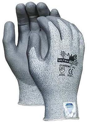 CutRes Gloves, 2XL, Salt-N-Pepper, PR
