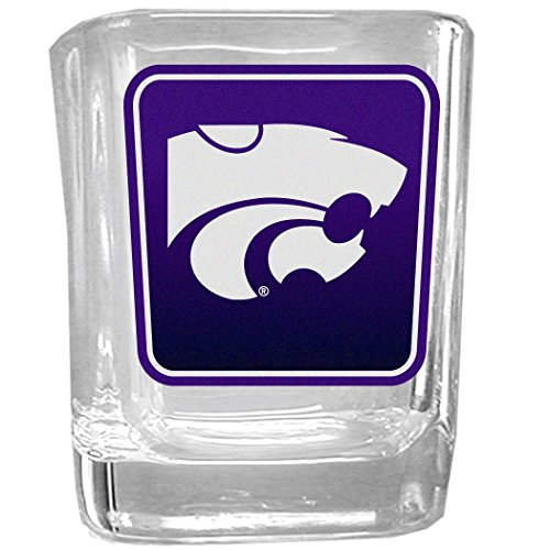 NCAA Kansas State Wildcats Square Glass Shot Glass ()