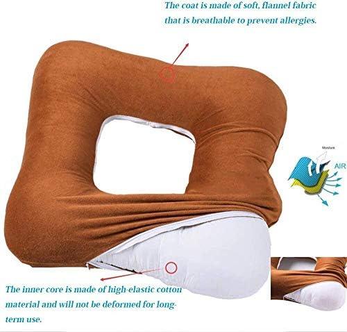 VGZ Anti-Dekubitus-Kissen Rollstuhl Büro- und Küchenstühle oder Autositze für zusätzlichen Halt und Komfort bei gleichzeitiger Reduzierung von Druck und Belastung des Rückens