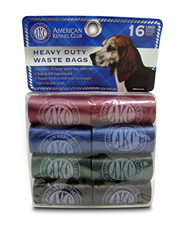 American Kennel Club 240 Count Heavy Duty Waste (Akc Powder)