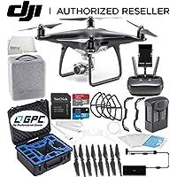 DJI Phantom 4 PRO Obsidian Edition Drone Quadcopter (Black) Rugged Starters Bundle