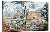 Global Gallery GCS-266167-36-142 ''Louis De Freycinet Timor Island Indonesia'' Gallery Wrap Giclee on Canvas Wall Art Print