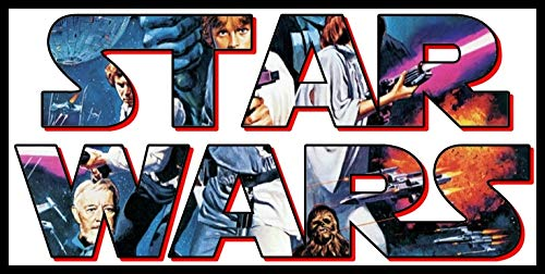 Star Wars Iron On Transfers - Star Wars - For Dark-Colored Materials - Iron On Heat Transfer 8