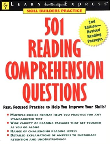 Buy 501 Reading Comprehension Questions (Learningexpress