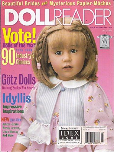 Doll Reader Magazine (June/July 2002 - Cover: Anna from Gotz Dolls) (Magazine Doll Reader)