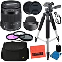 Sigma 885306 18-200mm F3.5-6.3 DC OS HSM Fixed-Zoom Lens for Nikon (DX) Cameras Advanced Kit