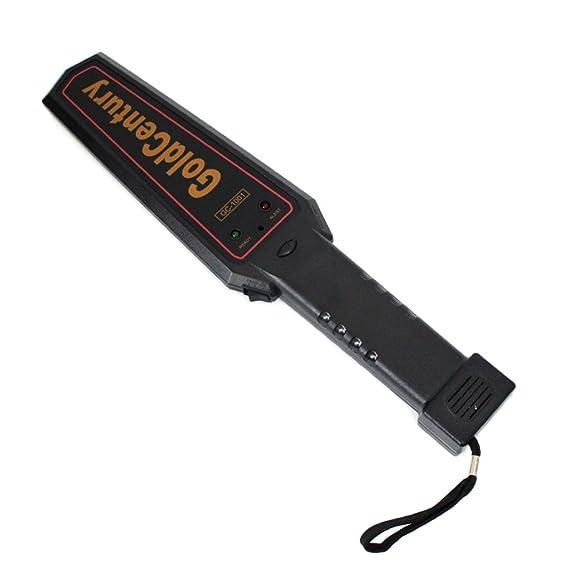 MUANI Sensor de Alambre electrónica del Detector de Metales Handheld Profesional Buscador de Oro de Alta sensibilidad Treasure Hunter escáner Seeker: ...