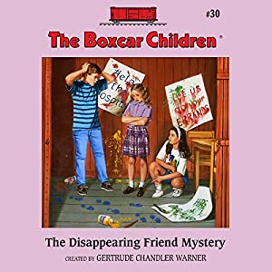 The Disappearing Friend Mystery Audiobook