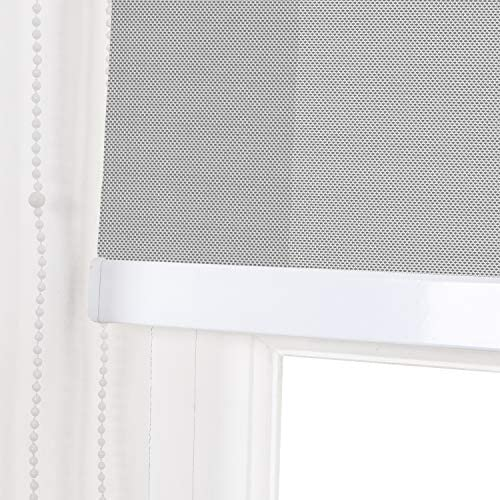 Duo rollo roller blind Double Page railway Shadow Vario fabric with